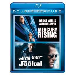 Mercury rising/jackal (blu ray/double feature) BR61117516