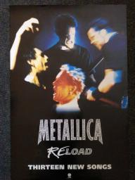 Metallica Reload Poster RAR99914621