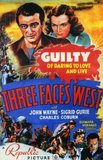 Three Faces West Movie Poster (11 x 17) ADC0VPMJY8XLL8E3
