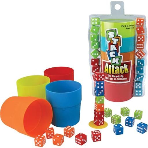 Patch Products-Smethport-Lauri PAT6890 Stack Attack The Dice It Up Dont Let It Fall Game ZLLOWBCUHOC4YRPM