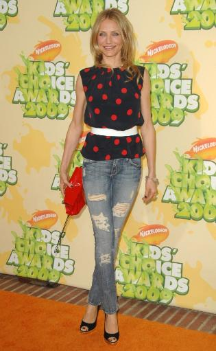 Cameron Diaz At Arrivals For Nickelodeon'S 22Nd Annual Kids' Choice Awards - Arrivals, Pauley Pavilion, Los Angeles, Ca March 28, 2009. Photo By. NMQ2N0VXCXAJPLQU