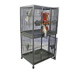 a-e-cages-ae-4030-2b-double-stack-bird-cage-black-aq9tndwioz8cvb1m
