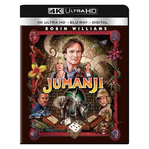 Jumanji (blu-ray/4kuhd/ultraviolet/digital hd) N05YXGRIV659H9XP