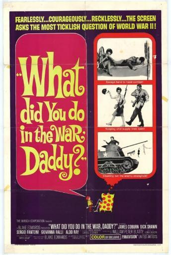What Did You Do in the War, Daddy Movie Poster (11 x 17) PPQAZ121GLEKBCVF