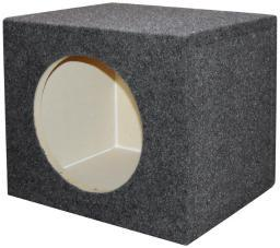 Qpower  Empty Woofer Box 10 Square Qpower QSMPSQ10E