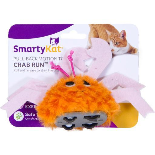 Smartykat Crab Run Pull Back Toy- EAVKS3BBQG8MFCRL