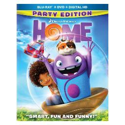 Home (2015/blu-ray/dvd/digital hd/2 disc) BR100472