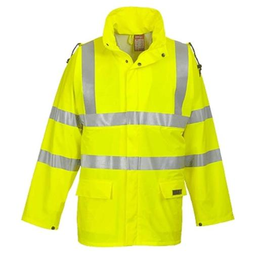Portwest FR41 Extra Large Sealtex Flame High Visibility Jacket, Yellow - Regular