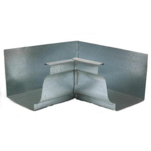 Amerimax Home Products 15201 Gutter Inside Mitre, Mill Finish Galvanized Steel - 4 in