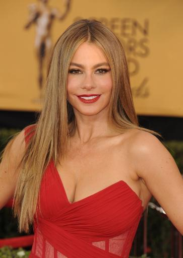 Sofia Vergara At Arrivals For 21St Annual Screen Actors Guild Awards - Arrivals 3, The Shrine Exposition Center, Los Angeles, Ca January 25, 2015.