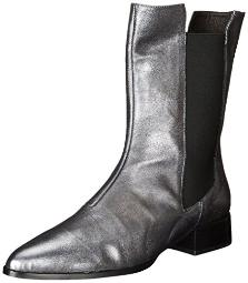 Andre Assous Women's Pelle Chelsea Boot, Midnight, 36 EU/6 M US