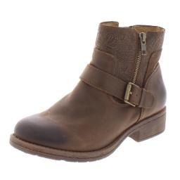 Comfortiva Womens Sterns Leather Ankle Booties