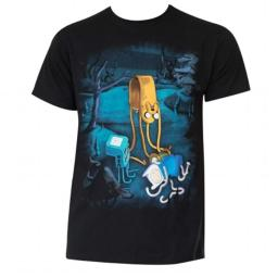 Adventure Time 34562S Adventure Time Mens Cotton Melting T-Shirt, Small