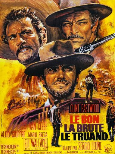 The Good The Bad And The Ugly French Poster Art Eli Wallach Clint Eastwood Lee Van Cleef 1966 Movie Poster Masterprint