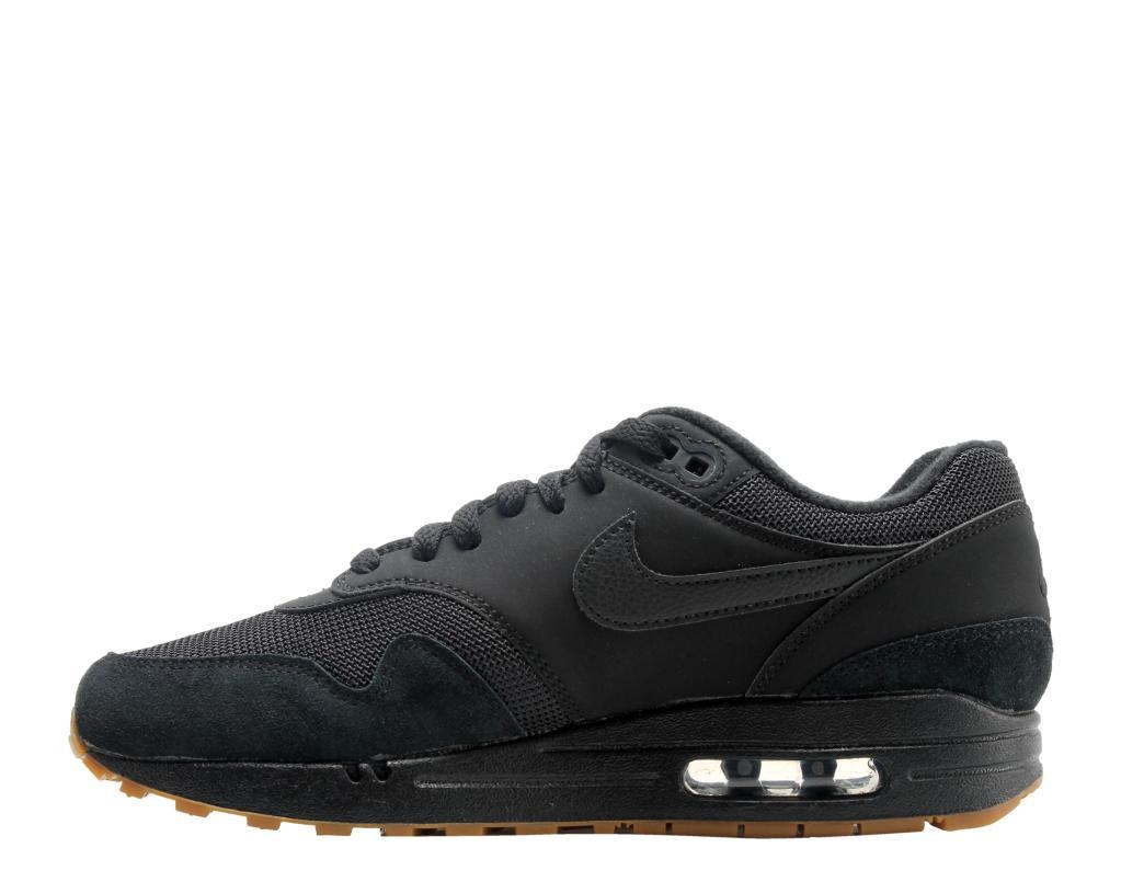 new style 14b85 5e56d Nike Nike Air Max 1 Triple Black Gum Men s Running Shoes AH8145-007    massgenie.com