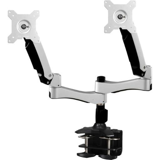 Amer networks amr2ac dual articulating monitor arm