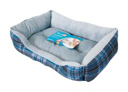 Aspen Pet Assorted Polyester Pet Bed 4.5 in. H x 15 in. W x 20 in. L - Case Of: 1;