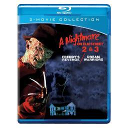 Nightmare on elm street 2 & 3 (blu-ray/dbfe) BRN202894