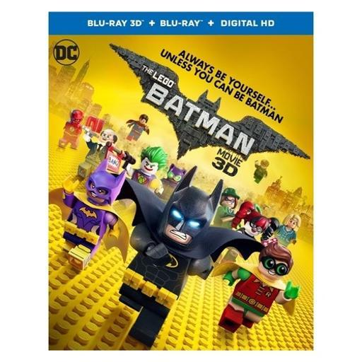 Lego batman movie (2017/blu-ray/3-d/digital copy/combo/2 disc) (3-d) 1299471