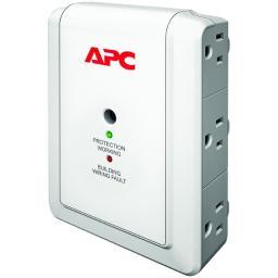 American Power Conversion Corp Apc Surgearrest Essential P6W 6-Outlets Surge Suppressor