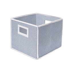 Badger Basket Co Folding Basket/Storage Cube - Blue Gingham