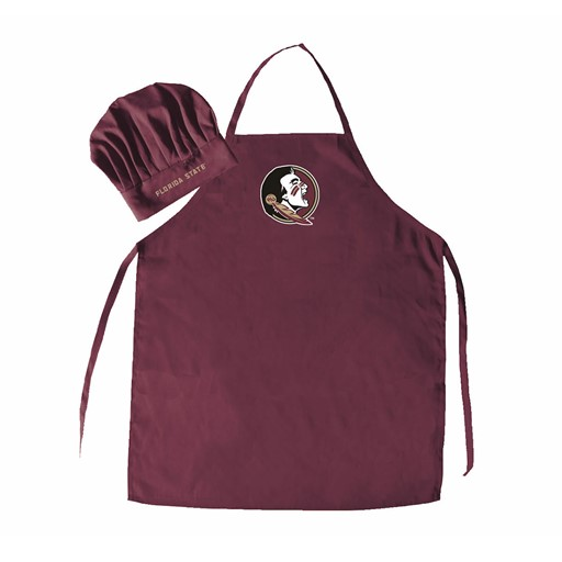 Sports Team Logo NCAA Florida State Seminoles Chef Had And Apron