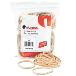 Universal 00432 Rubber Bands- Size 32- 3 x 1/8- 185 Bands/1/4lb Pack