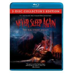 Never sleep again-elm street legacy (blu ray) (ws/1.78:1/2discs) BRID9982