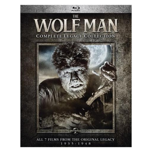 Wolf man-complete legacy collection (blu ray) (4discs) ETDF5G8HDVPK7CJH