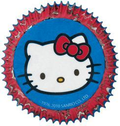 Standard Baking Cups-Hello Kitty 50/Pkg W4157575