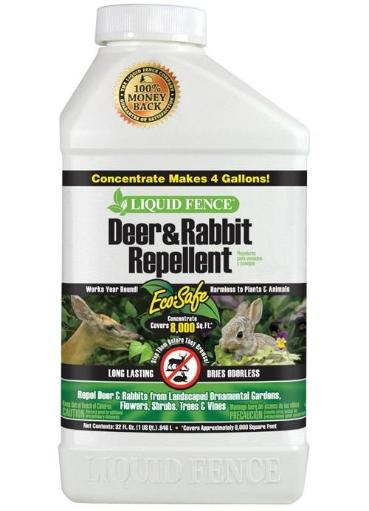 Liquid Fence Hg-71106 Deer & Rabbit Repellent Concentrate, 32 Oz
