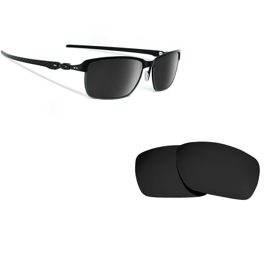 4315e29bee Seek Optics Tinfoil Carbon Replacement Lenses Polarized Black by SEEK fits OAKLEY  Sunglasses