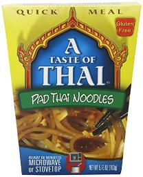 Taste of  Thai Padthai Noodle Quick Meal, 5.7500-Ounce (Pack of 6)