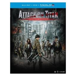 Attack on titan the movie-part 2 (blu ray/dvd combo w/uv/2discs) BRFN07276