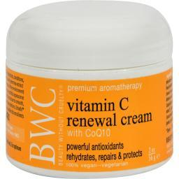 Beauty Without Cruelty Renewal Cream Vitamin C With Coq10 - 2 Oz