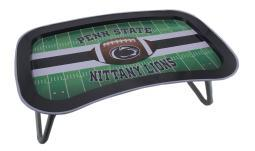 NCAA Penn State Nittany Lions Multi-function Metal Lap Tray Folding Legs 22 Inch