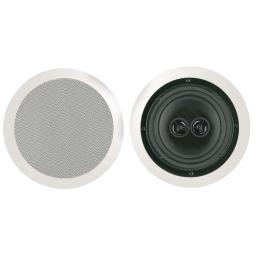 Bic america msr8d 8 muro dual voice-coil stereo ceiling speaker