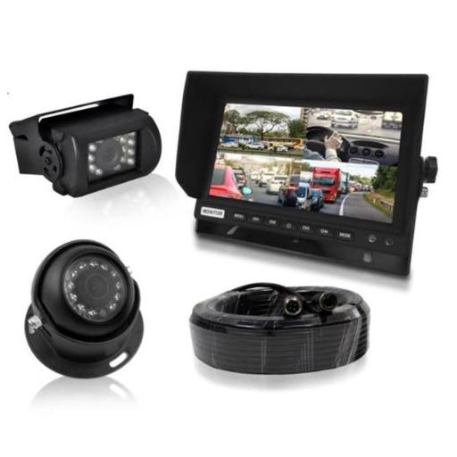 Pyle PLCMTRDVR48 Rear View & Backup Camera Systems with Display Monitor - 7 in.