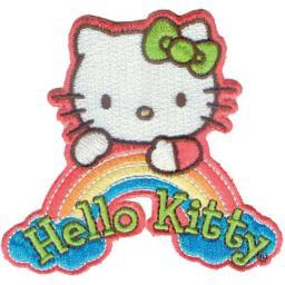 Hello Kitty Patch-Dream Rainbow P-HK-0002