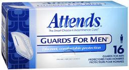 Attends Guards For Men - 4 Pks Of 16, Pack Of 4
