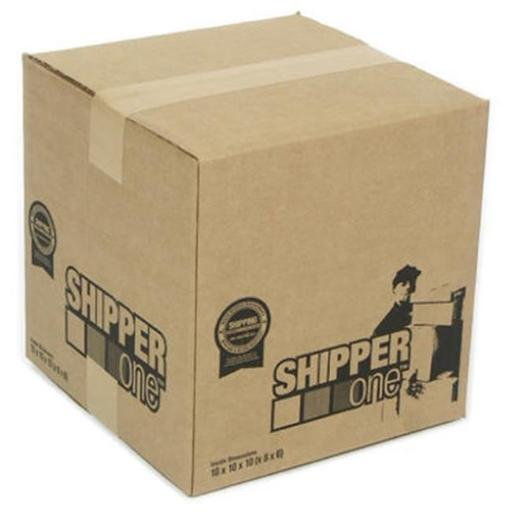 Schwarz Supply SP-893 8 x 8 x 8 in. Shipper One Shipping Box, Pack Of 25