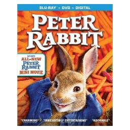 Peter rabbit (blu ray/dvd w/digital) BR51350