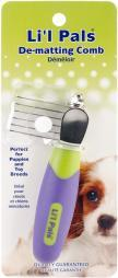Coastal Pet Products W6216-NCL00 Li'l Pals De-matting Pet Comb