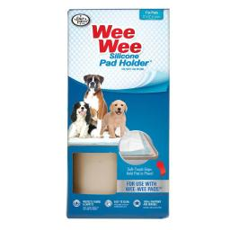 Four paws 100512717 four paws wee-wee silicone pad holder