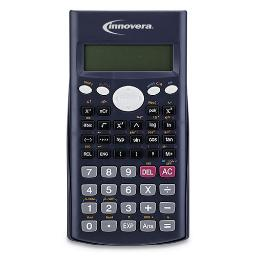 15969 Scientific Calculator 240 Functions 10-Digit LCD Two Display Lines | Total Quantity: 1