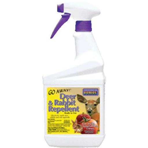 Bonide 230 Go Away Deer & Rabbit Repellent Rtu, 1 Quarts