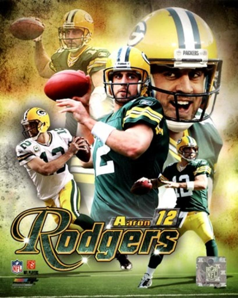 Aaron Rodgers 2011 Portrait Plus Sports Photo