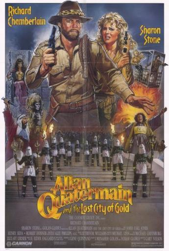Allan Quatermain and the Lost City of Gold Movie Poster Print (27 x 40) OJCNDEOMMY2QGS4C
