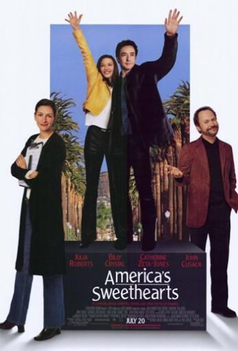 America's Sweethearts Movie Poster (11 x 17) D5XPAOET1RPMZMDX
