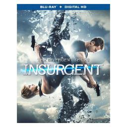 Insurgent (blu ray w/digital hd) (ws/eng/eng sub/span/span sub/eng sdh/2.0 BR47395